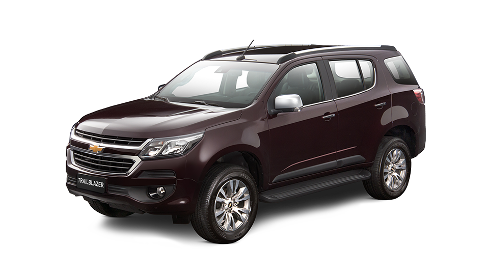 Chevrolet Trailblazer - Tu Camioneta 4X4 Color Rojo Cereza